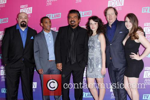 Anthony Campos, Maronzio Vance, George Lopez, Hayley Huntley, James M. Connor and Ashley Zamora 1