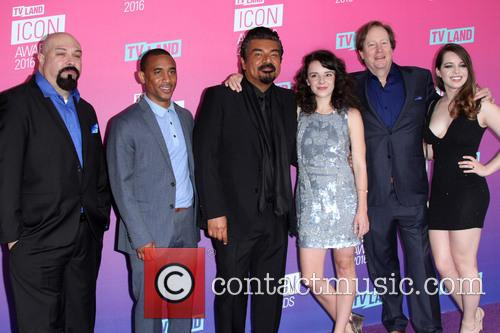 Anthony Campos, Maronzio Vance, George Lopez, Hayley Huntley, James M. Connor and Ashley Zamora 2