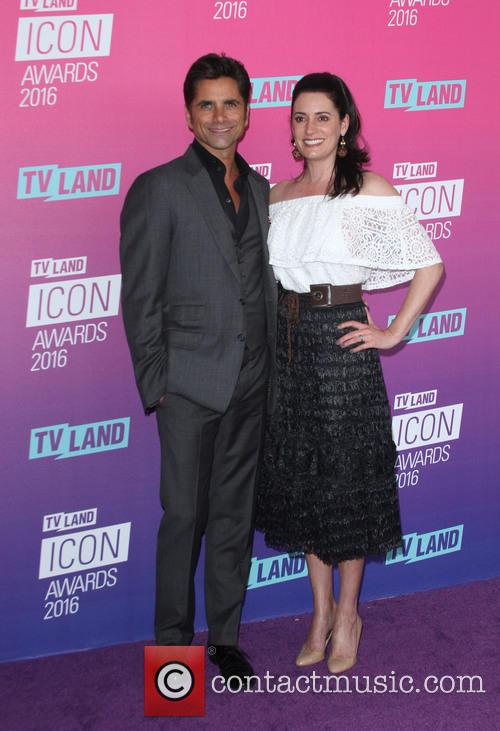 John Stamos and Paget Brewster 3