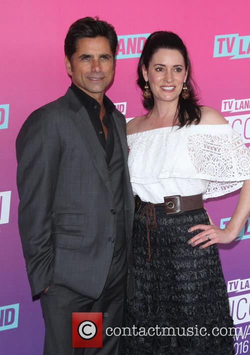 John Stamos and Paget Brewster 4