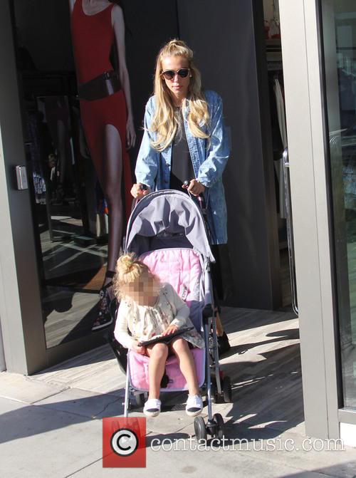 Tamara and Petra Ecclestone out with their daughters