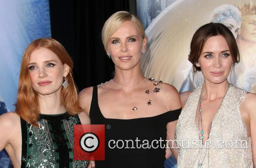 Jessica Chastain, Charlize Theron and Emily Blunt 10