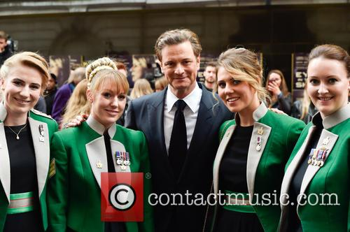 Colin Firth and British Army 6