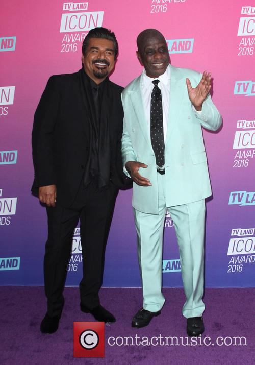 George Lopez and Jimmie Walker 6