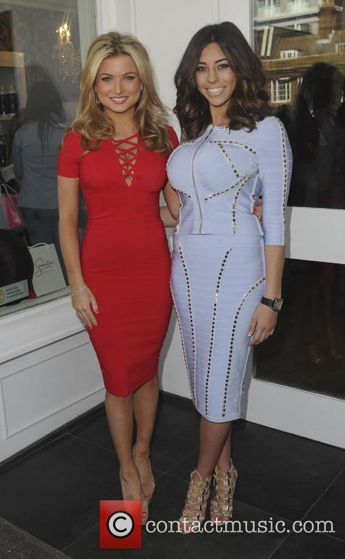 Amy Childs Salon Launch