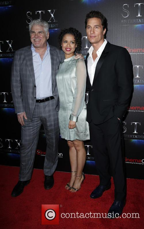 Gary Ross, Gugu Mbatha-raw and Matthew Mcconaughey 1
