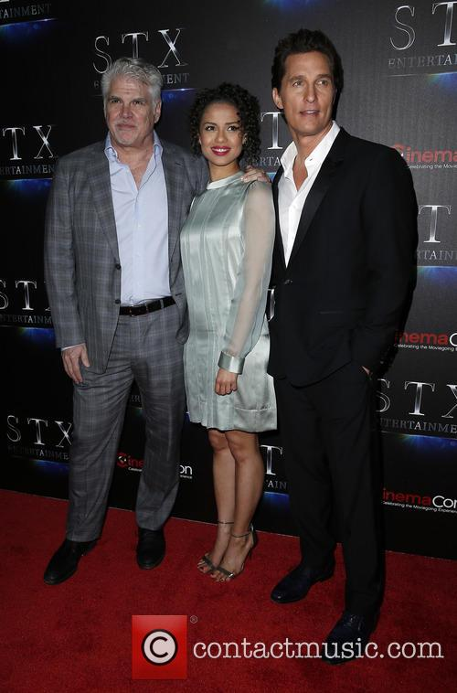 Gary Ross, Gugu Mbatha-raw and Matthew Mcconaughey 2