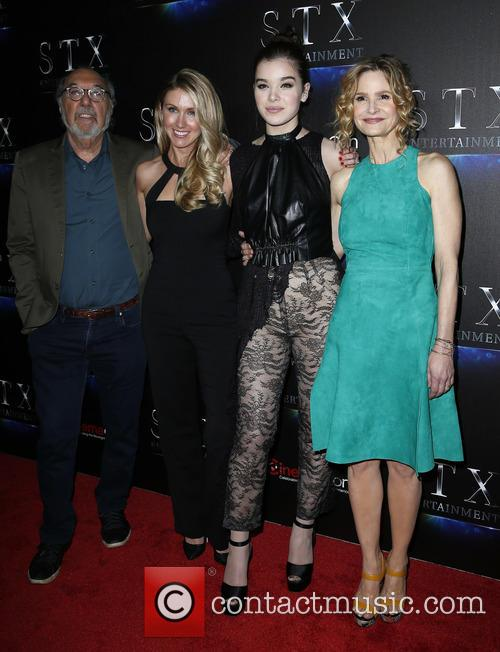 James L Brooks, Kelly Fremon Craig, Hailee Steinfeld and Kyra Sedgwick 1