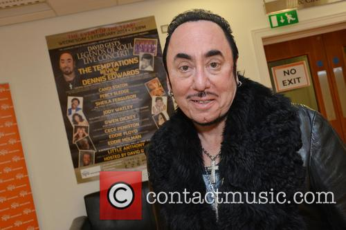 Contestant and David Gest 1
