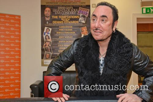 Contestant and David Gest 2