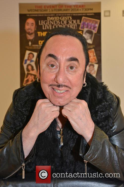 David Gest and Contestant 3