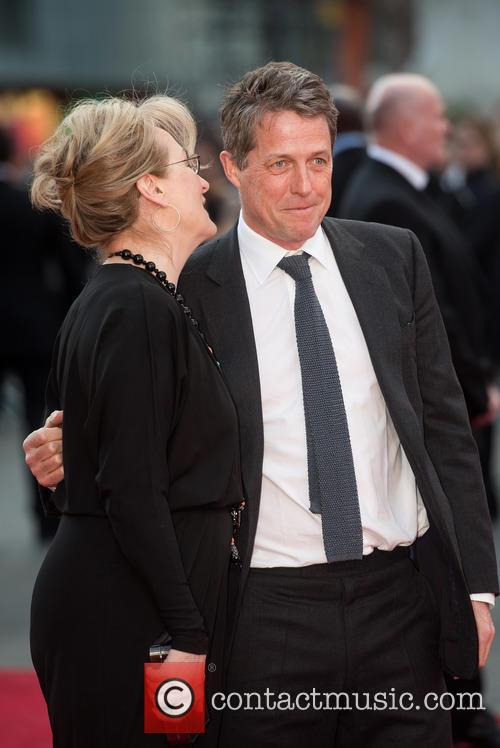 Hugh Grant and Meryl Streep 6
