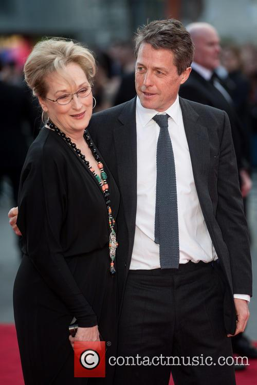 Hugh Grant and Meryl Streep 7