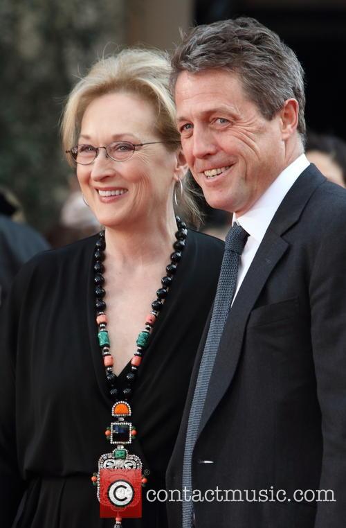 Meryl Streep and Hugh Grant 6