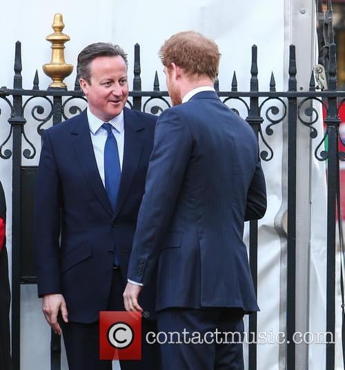 Prince Harry and David Cameron Mp 1