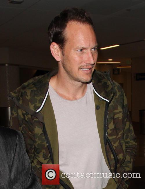 Patrick Wilson arrives at Los Angeles International (LAX)...
