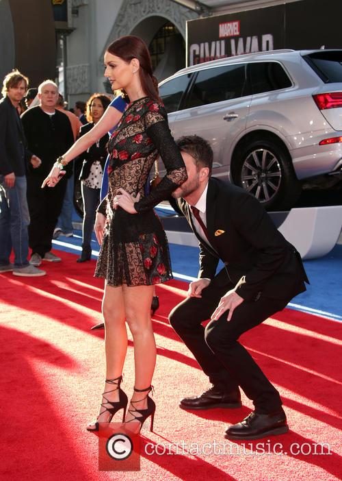 Lydia Hearst and Chris Hardwick 4