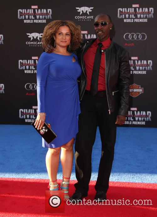 Bridgid Coulter and Don Cheadle 2