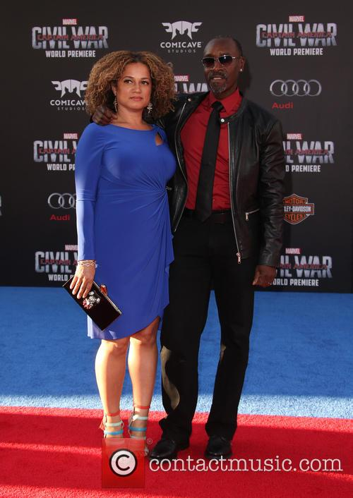 Bridgid Coulter and Don Cheadle 3