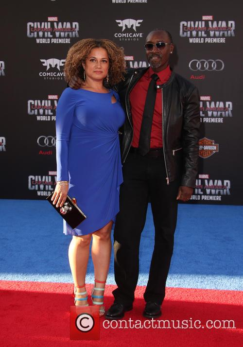 Bridgid Coulter and Don Cheadle 4