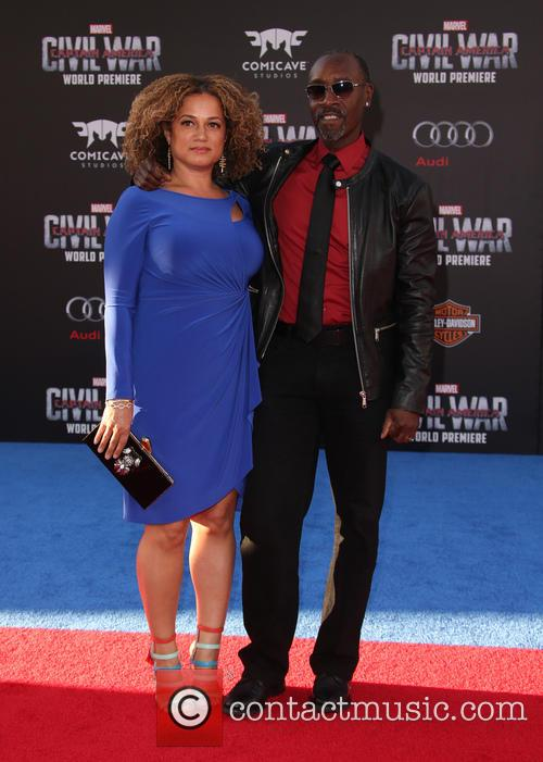 Bridgid Coulter and Don Cheadle 5