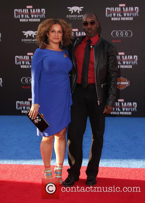 Bridgid Coulter and Don Cheadle 6