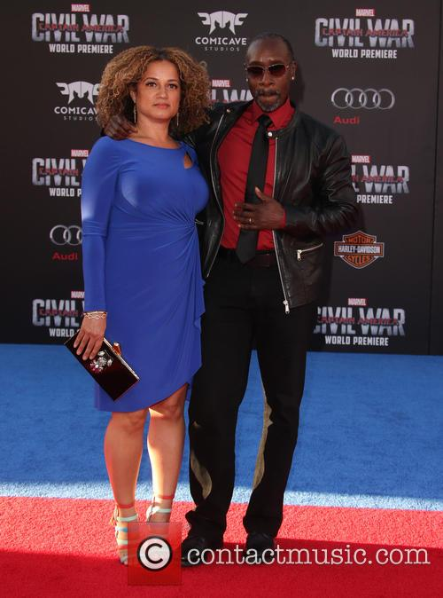 Bridgid Coulter and Don Cheadle 8