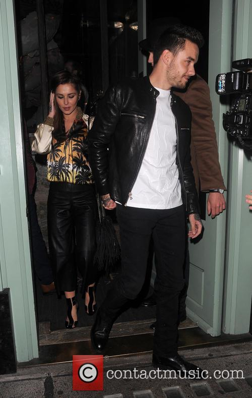 Cheryl Fernandez-Versini and Liam Payne enjoy date night...