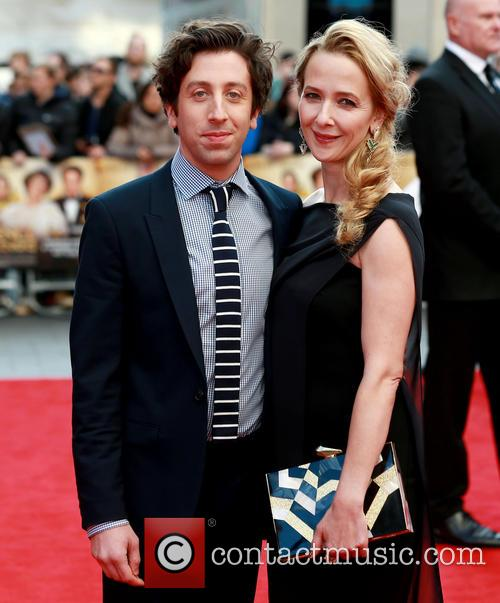 Simon Helberg and Jocelyn Towne 10
