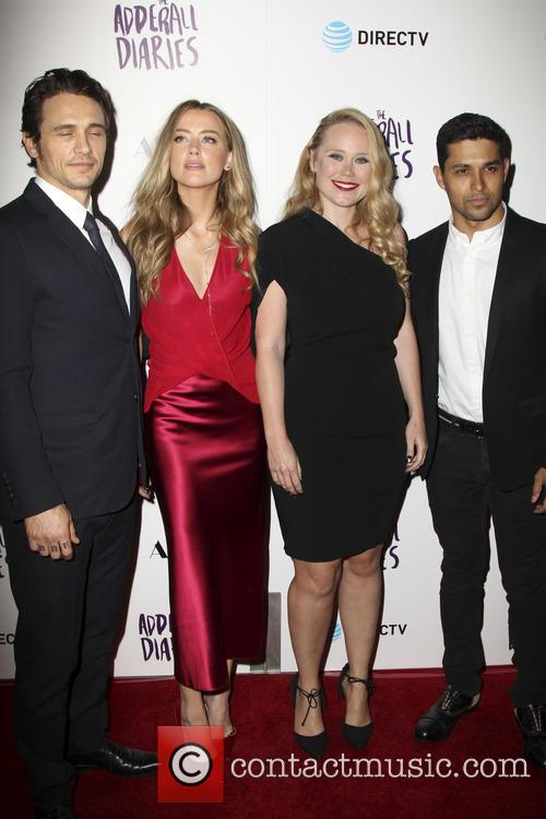 James Franco, Amber Heard, Pamela Romanowsky and Wilmer Valderrama 1