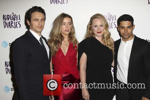 James Franco, Amber Heard, Pamela Romanowsky and Wilmer Valderrama 2