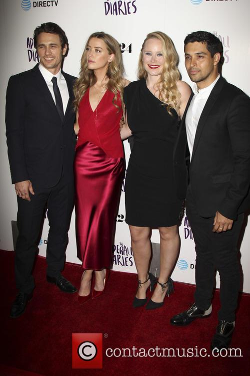 James Franco, Amber Heard, Pamela Romanowsky and Wilmer Valderrama 5