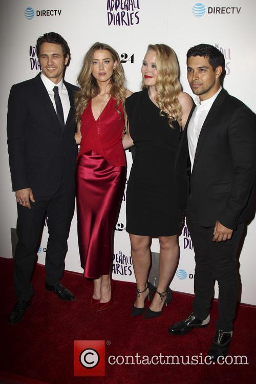 James Franco, Amber Heard, Pamela Romanowsky and Wilmer Valderrama 6