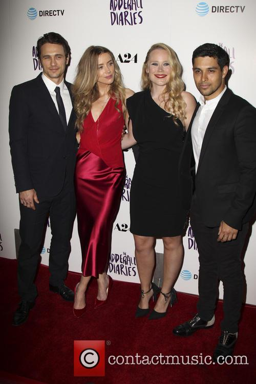 James Franco, Amber Heard, Pamela Romanowsky and Wilmer Valderrama 7