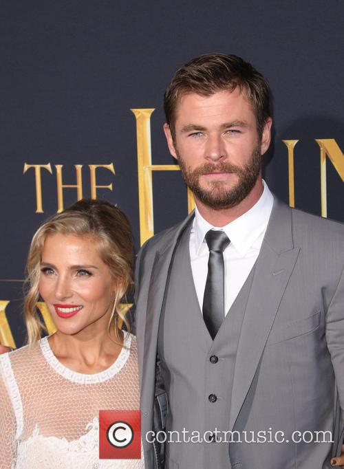 Elsa Pataky and Chris Hemsworth 1