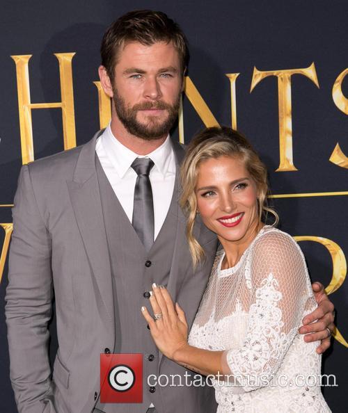 Chris Hemsworth and Elsa Pataky 3