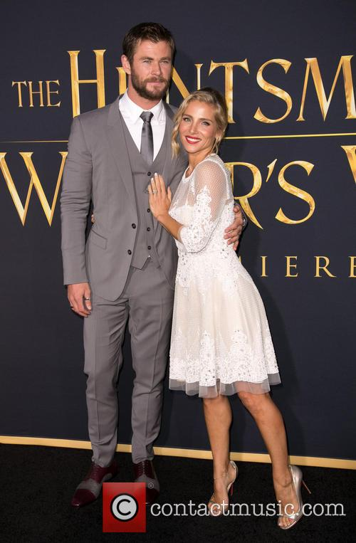 Chris Hemsworth and Elsa Pataky 9