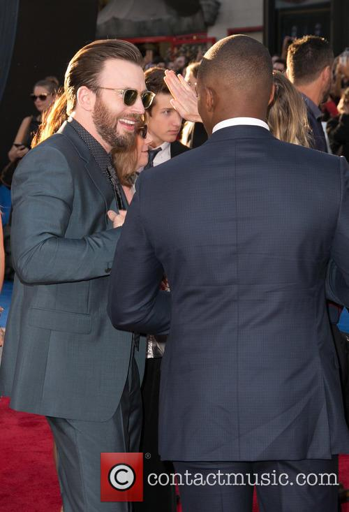 Chris Evans and Anthony Mackie 1