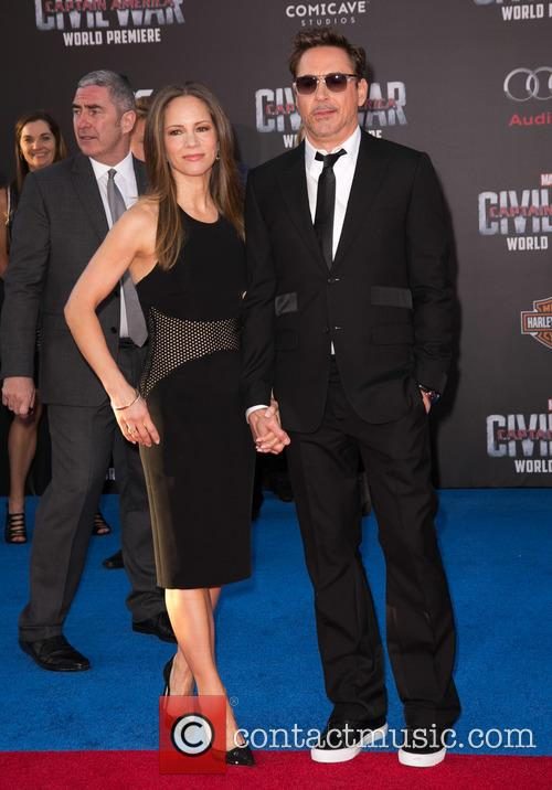 Susan Downey and Robert Downey Jr. 1