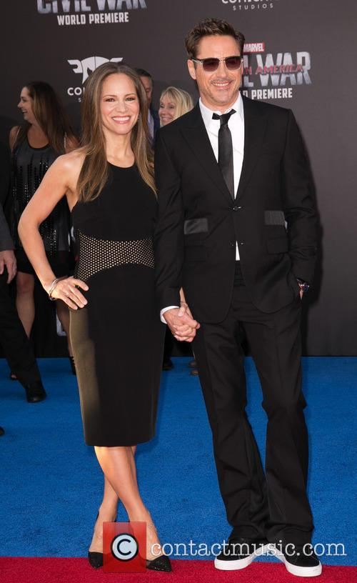 Susan Downey and Robert Downey Jr. 2