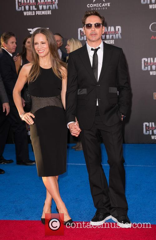 Susan Downey and Robert Downey Jr. 4