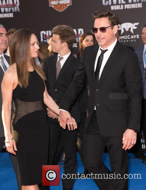 Susan Downey and Robert Downey Jr. 5