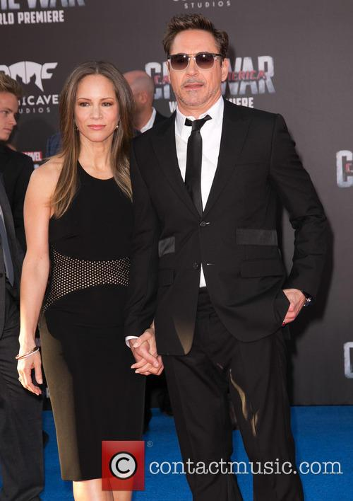Susan Downey and Robert Downey Jr. 6