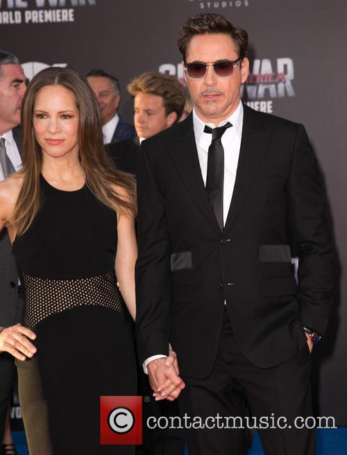 Susan Downey and Robert Downey Jr. 7