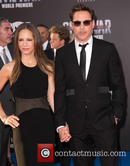 Susan Downey and Robert Downey Jr. 8