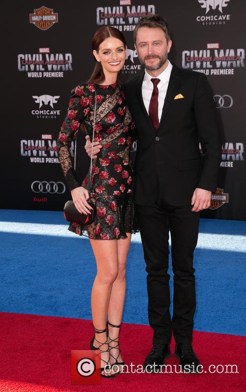 Lydia Hearst and Chris Hardwick 2