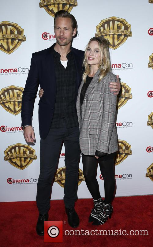 Alexander Skarsgard and Margot Robbie 2