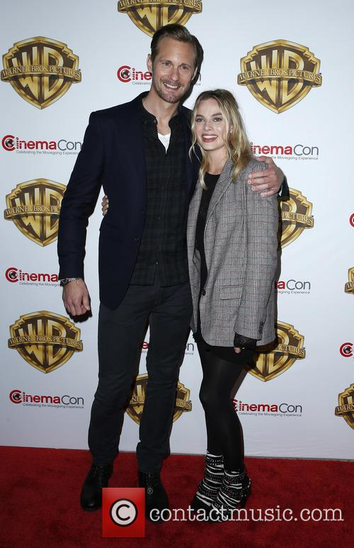Alexander Skarsgard and Margot Robbie 3