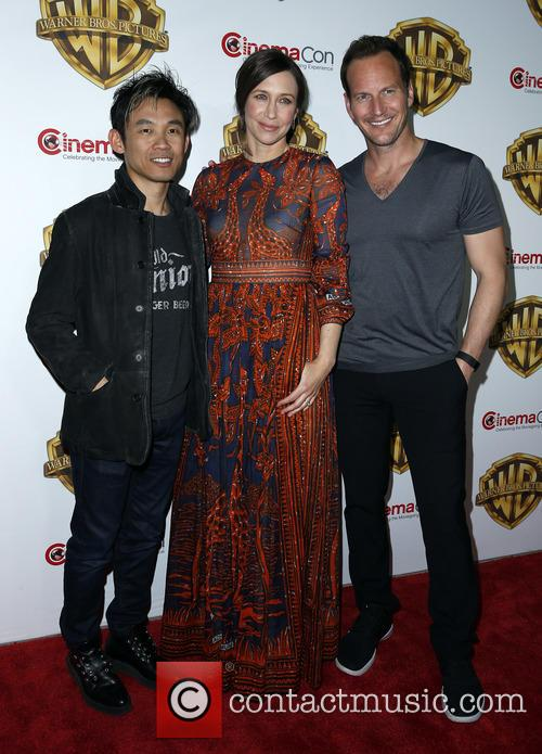 James Wan, Vera Farmiga and Patrick Wilson 2