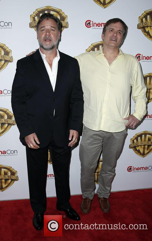 Russell Crowe and Shane Black